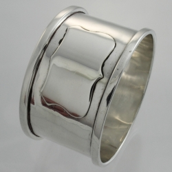 Napkin Ring Sterling c1931 S W Goode & Co Birmingham England