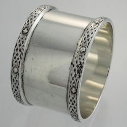 Napkin Ring Sterling c1961 J B Chatterley & Sons Ltd England