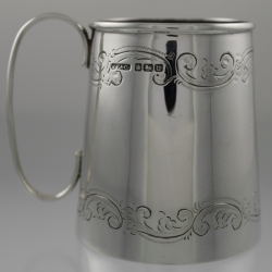 Baby Cup Sterling Silver H Fisher & Co Sheffield England c1914