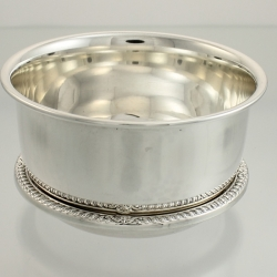 Bowl and Tray Sterling Silver Henry Birks Canada c1961