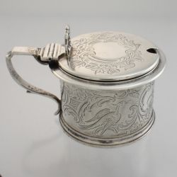 Mustard Pot Sterling c1846 Charles Thomas Fox & George Fox