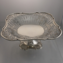 Tazza or Compote Sterling c1923 John Round & Son Ltd Sheffield