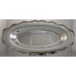 Bread Tray Sterling Silver c1900 Roden Bros Canada
