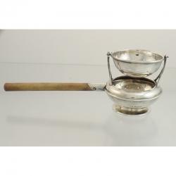 Tea Strainer Sterling Silver c1914 Deakin & Francis Birmingham