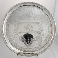 Waiter Sterling Silver c1801 William Bennett London England