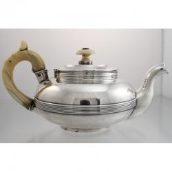 Teapot Silver St. Petersburg Russia c1840 Gustav Okerblom
