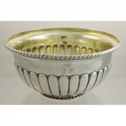 Bowl Silver Russia St. Petersburg c1795-1826