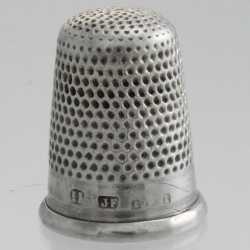Thimble Sterling Silver c1922 James Fenton Birmingham England