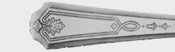 Beverly aka Elite 1922 - Dinner Knife Solid Handle Bolster Blunt Stainless Blade