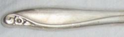 Flowertime 1963 - Dinner Knife Hollow Handle Modern Stainless Blade