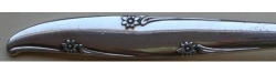 Forest Flowers aka Silver Flowers 1960 - Dinner Knife Hollow Handle Modern Stainless Blade