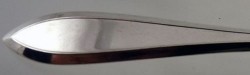 Lufberry 1915 - Dinner Knife Hollow Handle Bolster Old French Plated Blade