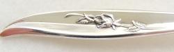 Magic Rose 1963 - Dinner Knife Hollow Handle Modern Stainless Blade