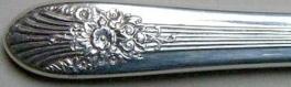 Marigold aka Silver Mist 1935 - Dinner Knife Hollow Handle Modern Stainless Blade