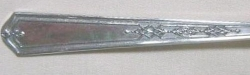 Mary Stuart 1927 - Personal Butter Knife Flat Handle Paddle Blade