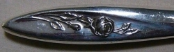 Morning Rose 1960 - Round Gumbo Soup Spoon