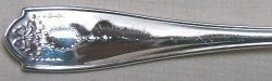 Old Adam aka Laurel Wreath  - Dinner Knife Solid Handle Bolster Blunt Stainless Blade