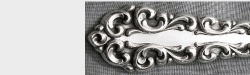 Venetian Scroll 1970 - Vegetable Spoon or Pierced Table Spoon