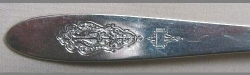 Bird of Paradise 1923 - Luncheon Knife Solid Handle Bolster French Plated Blade