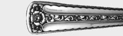 Spring Bouquet 1954 - Dinner Knife Hollow Handle Bolster Modern Stainless Blade