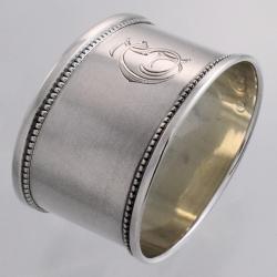 Napkin Ring Silver | Theodor Gruhn Tallinn Estonia c1922-39