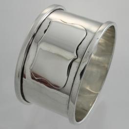 Napkin Ring Sterling c1931 S W Goode & Co Birmingham England