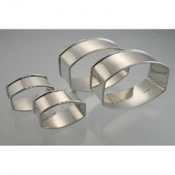 Napkin Ring Family Set Schriek & Looren de Jong Netherlands