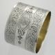 Napkin Ring Sterling Victorian | William Hunter London England