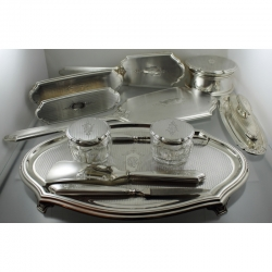Vanity or Dresser Set Gorham Sterling 1927 USA