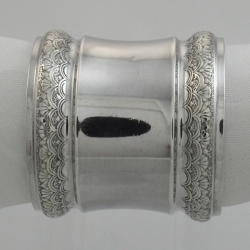 Napkin Ring Sterling Silver Aesthetic Movement Gorham c1852-1865