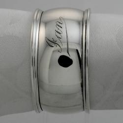 Napkin Ring Sterling Silver c1910 Mole Frederick James Australia