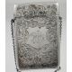 Card Case Sterling Silver Charles Lyster & Son Birmingham c1912