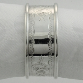 Napkin Ring Sterling Silver Rolason Brothers Birmingham England