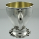 Baby Cup Sterling Silver Art Nouveau c1900 William B. Kerr USA