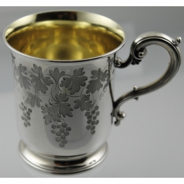 Baby Cup Sterling Silver Edward & John Barnard London c1859