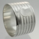 Napkin Ring Sterling Silver Very Heavy Gauge | American