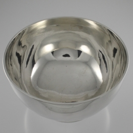 Bowl Sterling Silver Bowl by William Evans 1882 London England