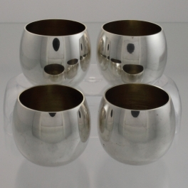 Tiffany & Co Sterling Silver 25005 Set of Shot Sake Cordial Cups