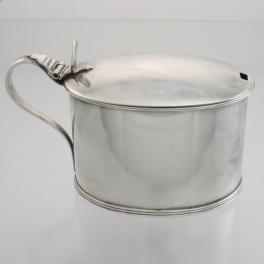 Mustard Pot Sterling c1789 Robert Hennell I London England
