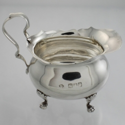 Creamer Sterling Silver c1896 William Hutton & Sons London