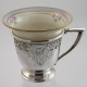 Demitasse Sterling Cup & Saucer F.M. Whiting and DeLan & McGill