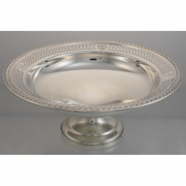 Tazza or Compote Sterling Silver by Mueck-Cary Co NY, NY USA