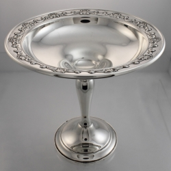 Tazza or Compote Sterling Silver Strasbourg 1897 Pattern 1140