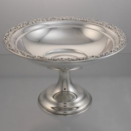 Tazza or Compote Sterling Silver Wallace Silversmiths USA