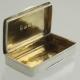 Snuff Box Sterling c1809 Samuel Pemberton Birmingham England