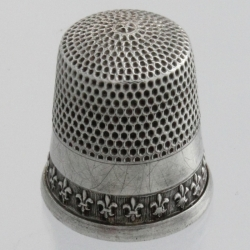Thimble Sterling Silver Simons Bros. Co. USA
