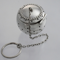 Tea Ball Sterling Silver Simons Bros. Co Philadelphia USA