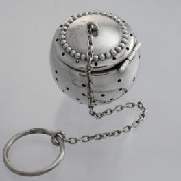 Tea Ball Sterling Silver Simons Bros. Co Philadelphia USA