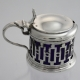 Mustard Pot Sterling Silver c1931 W Drummond & Co London England