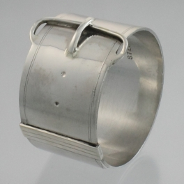 Napkin Ring Sterling Silver Arts and Crafts D.S. & Co. c1920